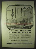 1922 Millers Falls Wordworking Tools Ad