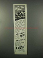 1982 Crane Cams Ad - Right for Today!