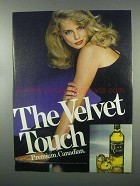 1982 Black Velvet Canadian Whisky Ad - The Touch
