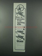 1982 Williams Gun Sight Ad - Customize Sporting Rifle