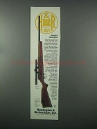 1982 Harrington & Richardson Model 865 Rifle Ad