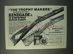 1982 Thompson / Center Ad - Renegade & Hawken Rifle