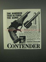 1982 Thompson / Center Arms Contender Handgun Ad