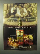 1981 I.W. Harper Bourbon Ad - Time-Honored Holiday