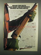 1981 Smith & Wesson Model 1500 Rifle Ad - The Facts