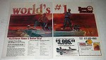 1981 Bass Tracker III Boat Ad - World's #1