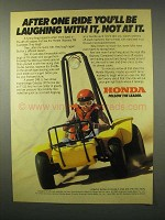 1980 Honda Odyssey TM 4-Wheeler Ad - Laughing With It