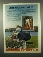 1980 Ariens Riding Mowers Ad - Any Way You Cut It