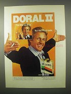 1980 Doral II Cigarettes Ad - Little Tar 5mg