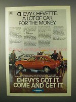 1980 Chevy Chevette Car Ad - Lot For The Money