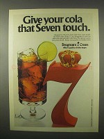 1980 Seagram's 7 Crown Whisky Ad - Your Cola