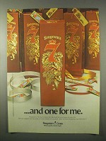1980 Seagram's 7 Crown Whisky Ad - And One For Me