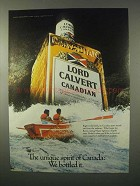1980 Lord Calvert Canadian Whisky Ad - The Spirit