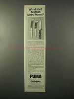 1980 Puma Knives Ad - Aristocrat, 200, Trail Guide