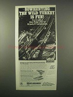 1980 Bear Archery Ad - Polar LTD, Grizzly II Bows