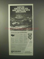1980 Bear Archery Black Bear II Bow Ad - Hunt Fish