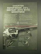 1980 Charter Arms Pathfinder .22 Revolver Ad