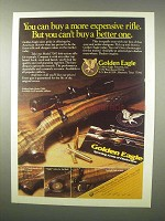 1980 Golden Eagle Model 7000 Rifle Ad - Better One