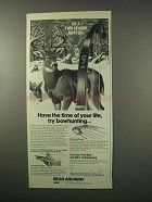 1979 Bear Archery Ad - Whitetail Hunter Bow