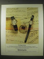 1984 Tiffany & Co. Breguet Watch Ad
