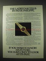 1984 Patek Philippe Ladies' Nautilus Watch Ad
