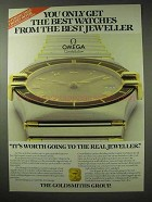 1984 Omega Constellation Watch Ad - Best Jeweller