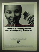 1984 Hong Kong Ad - Some of the Most Popular Bars