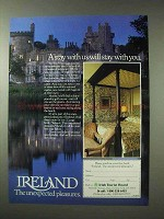 1984 Ireland Tourism Ad - A Stay With Us