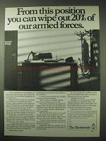 1984 UK Territorial Army Ad - 20% of Armed Forces