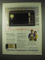 1984 Litton Generation II Model 2090 Microwave Ad