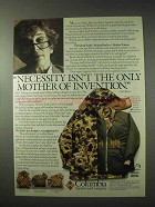 1984 Columbia Quad Parka Ad - The Mother of Invention