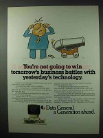 1984 Data General Computer Systems Ad - Battles