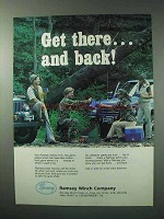 1984 Ramsey Winch Ad - Get There and Back!
