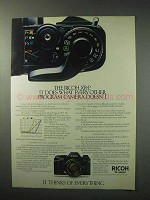 1984 Ricoh XR-P Camera Ad - It Does What Other Doesn't