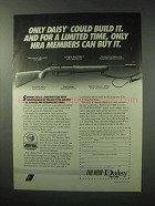 1984 Daisy 953 Air Rifle Ad - Only NRA Members