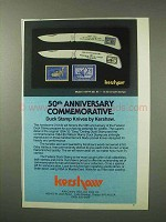 1984 Kershaw 50th Anniversary Duck Stamp Knives Ad