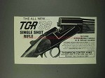 1984 Thompson / Center Arms Ad - TCR '83 Rifle