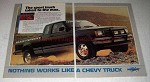 1984 Chevy S-10 Maxi-Sport Truck Ad - Taken to the Max