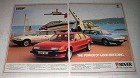 1984 Rover 2000 and Vitesse Cars Ad - Good Breeding