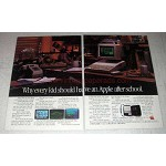 1984 Apple IIc Computer Ad - Have After School