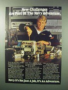 1983 U.S. Navy Ad - New Challenges