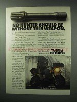 1983 Yamaha Yamahauler Tri-moto ATV Ad - This Weapon