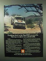 1983 Isuzu 4x4 Pickup Truck Ad - Third in the Baja 1000