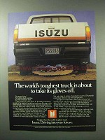 1983 Isuzu Pickup Truck Ad - World's Toughest