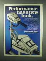 1983 Motor-Guide Brave, Brute Outboard Motor Ad