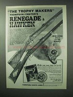 1983 Thompson / Center Ad - Renegade, Hawken Rifle