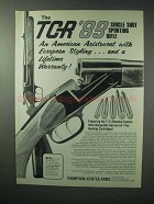 1983 Thompson / Center TCR '83 Rifle Ad - Sporting