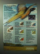 1983 Federal Shotshells Ad - For Every Hunter