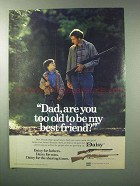 1983 Daisy 1938 Red Ryder and 850 Single-Pump Rifle Ad