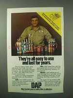 1983 DAP Caulk, Fillers, Adhesives Ad - Easy To Use